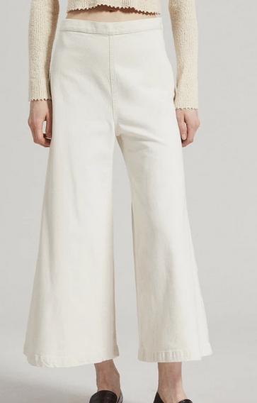 Absolute pant in dirty white denim