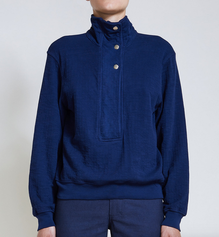 Marta zip up navy