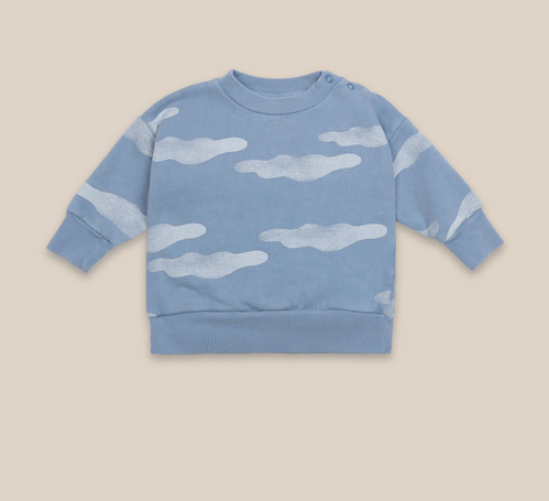 clouds all over sweatshirt