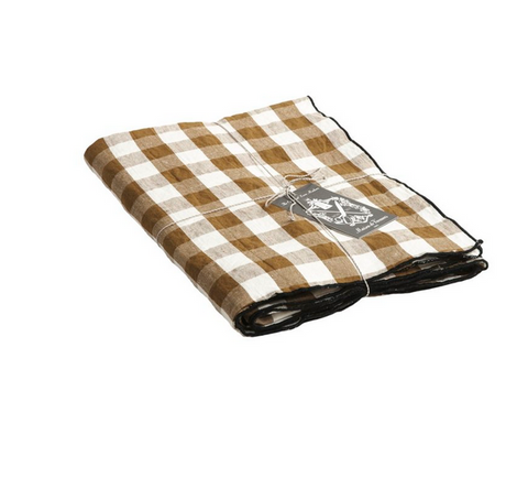 mimi vichy check table cloth Epices 57