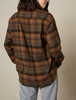 big checks Charlot plaid shirt