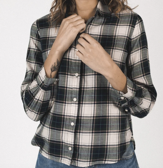 Rory shirt cypress plaid