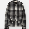 Presely jacket in wool plaid
