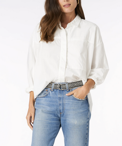 crystal white landry shirt