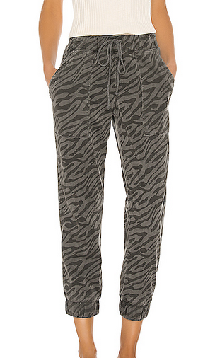 Pocket jogger black beauty zebra print
