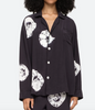 Daria dye silk pajama top