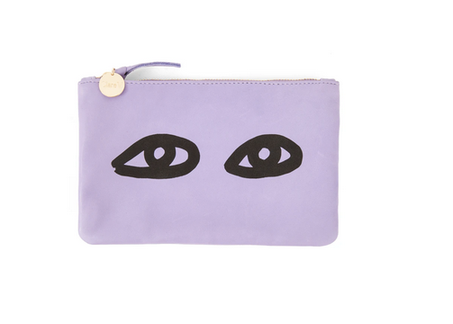 Wallet clutch violet eyes