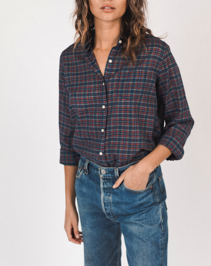 Grace classic shirt heritage plaid