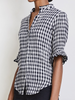 Los Altos top gingham