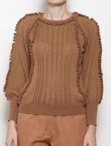 camari knit in onion skin