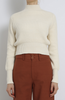 Dios mock neck sweater cream