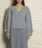 Bella sweater cloud blue