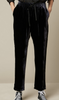 Phil dark navy velvet pants