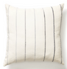 recycled stripe pillow grey, 20