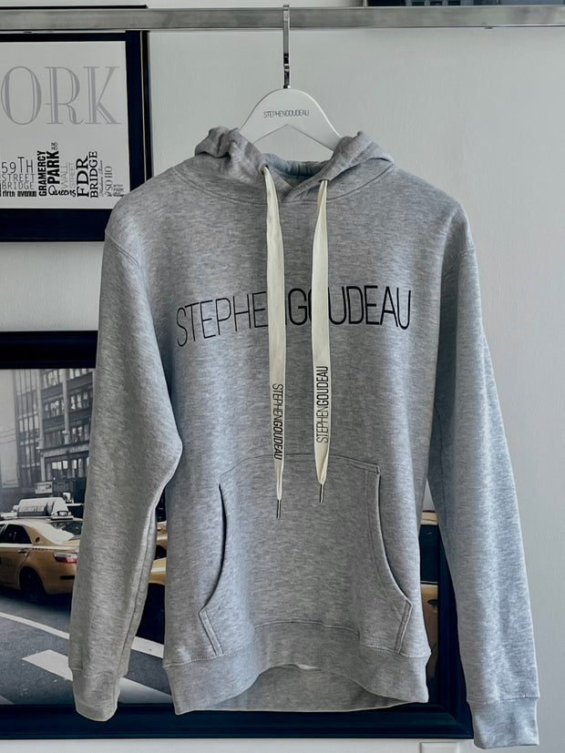 Stephen Goudeau Signature Hoodie with signature drawstring