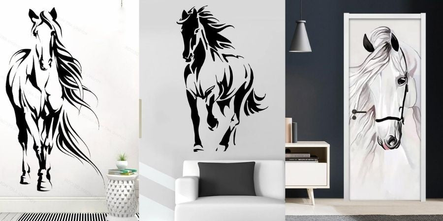 exemple stickers cheval