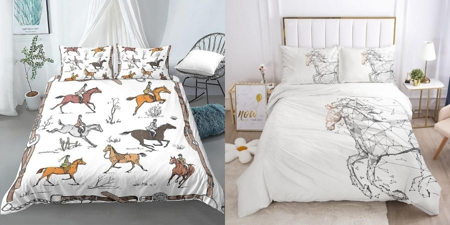 Collection Housse de couette Cheval