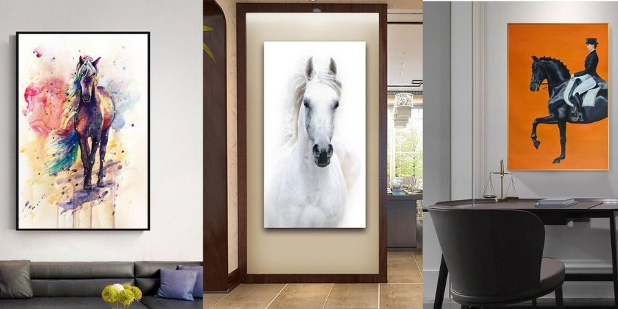 Tableau cheval exemple