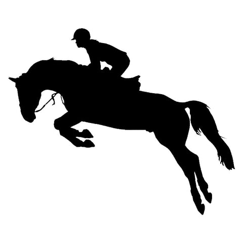 Stickers Cheval <br> Saut Hippique