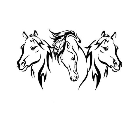 Stickers Chevaux <br> Harde