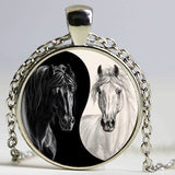Collier Cheval <br> Yin Yang