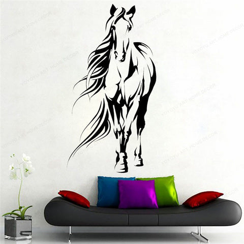 sticker mural cheval xxl