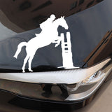 Stickers Cheval <br> Saut d'obstacle