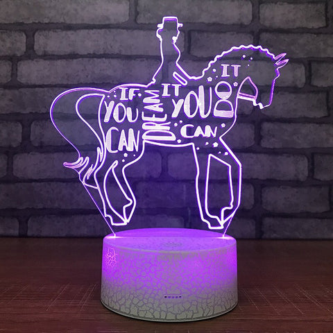 Lampe Cheval <br> dressage