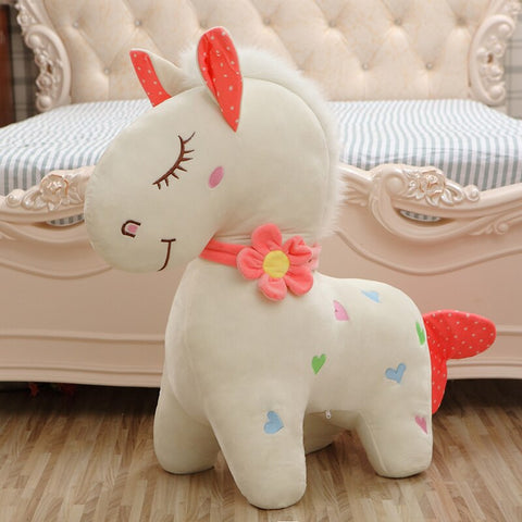 peluche cheval poney