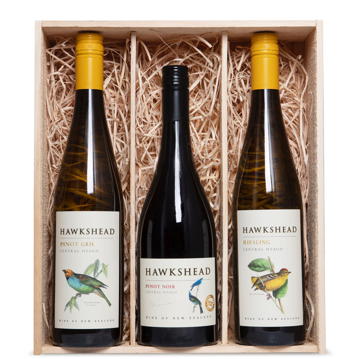 Hawkshead Selection Wine Three Bottle Gift Box