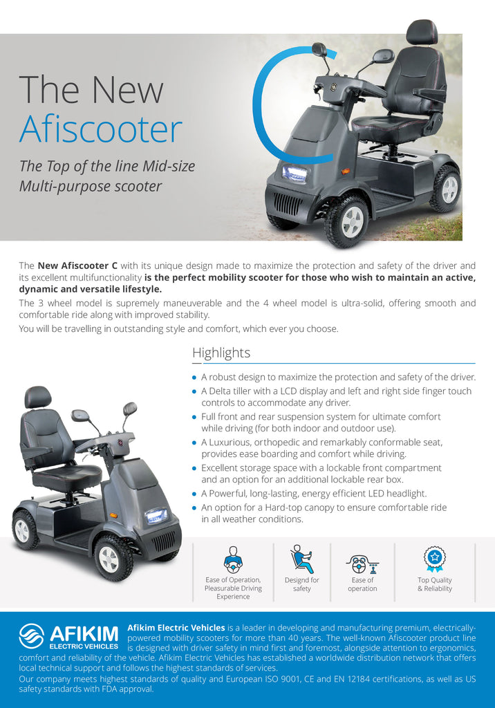 Afikim C3 Electric Scooter