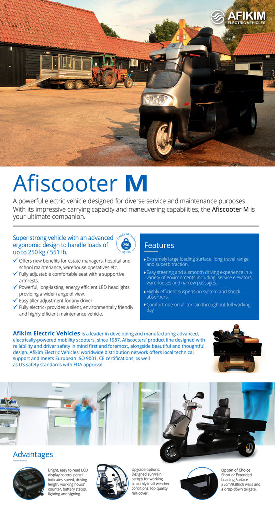 The Afiscooter M Brochure