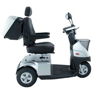 AFIKIM MOBILITY - AfiScooter Breeze C3 - Mid-Sized Multi-Purposed  3 Wheel Mobility Scooter - 950W - Electric Whispering