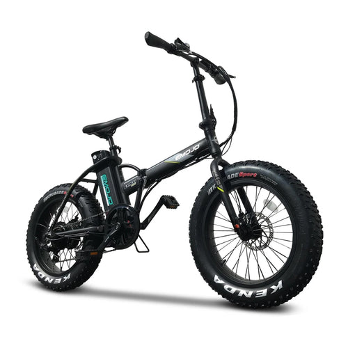 Emojo Lynx Pro Fat Tire Folding Electric Mountain Bike - 500W - Electric Whispering