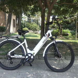 Emojo Panther Pro Step Through Electric Bike - 500W - Electric Whispering