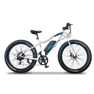 Emojo Wildcat Pro HD Fat Tire Electric Mountain Bike - 750W - Electric Whispering