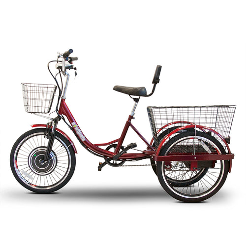 E-Wheels EW-29 3 Wheel Trike with Electric or Pedal Option - 750W - Electric Whispering