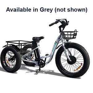 Emojo Caddy 500W Fat Tire E Trike - 500W