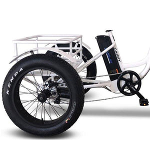Emojo Caddy Pro 500W Fat Tire Electric Trike - 500W