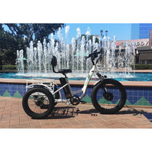 Load image into Gallery viewer, Emojo Caddy Pro 500W Fat Tire Electric Trike - 500W