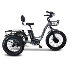 Load image into Gallery viewer, Emojo Caddy Fat Tire Electric Tricycle - 500W - Electric Whispering