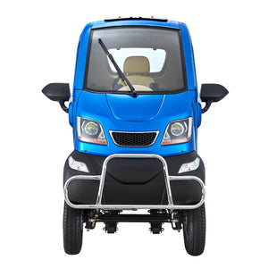 Green Transport Q-Runner 4-Wheel Electric Transport Scooter - 1000W - Electric Whispering
