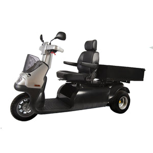 AFIKIM MOBILITY - AfiScooter M - A Utility 3 Wheel Cargo Scooter - 1400W - Electric Whispering