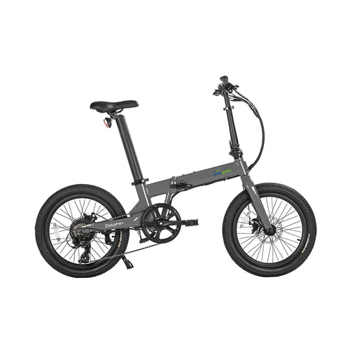 Qualisports Dolphin Electric Folding Bike – 350W - Electric Whispering