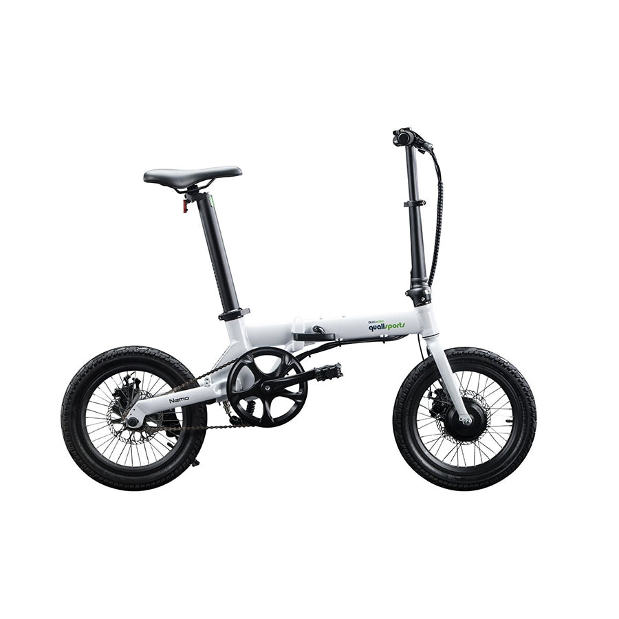 Qualisports Nemo Electric Folding Bike – 250W - Electric Whispering