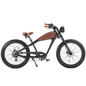 Revi Bikes CHEETAH - CAFÉ RACER Fat tire E-Bike - 750W