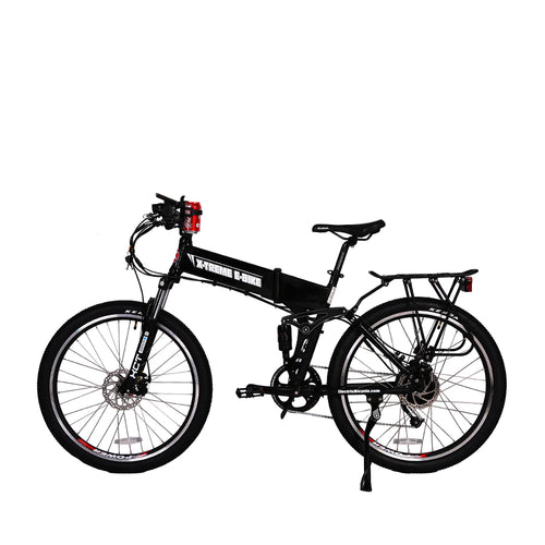 XTreme Baja 48 Volt Folding Mountain E Bike - 500W
