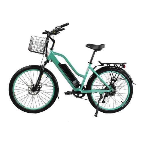 XTreme Catalina 48 Volt Step-Through Beach Cruiser Electric Bike - 500W