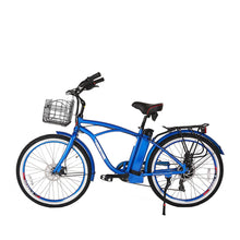 Load image into Gallery viewer, XTreme Newport Elite 24 Volt Beach Cruiser Electric Bicycle - 300W
