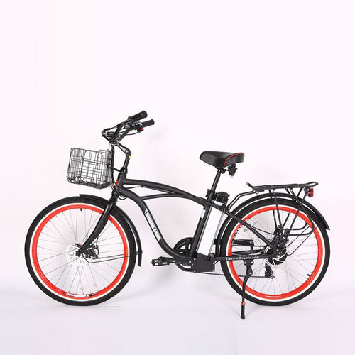 XTreme Newport Elite Max 36 Volt Beach Cruiser Electric Bicycle - 350W